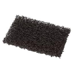 プロも納得 抗菌力が持続するまな板パルト 軽量コンパクト 付属の研磨シートでこすり洗いすれば、新しい抗菌面が現れます。