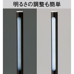 BRUNO/ブルーノ  スティックライト 2本組 スイッチに触れ続けるだけで、明るさを無段階に調節できます。