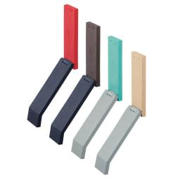 tidy/ティディ ドアストップ[日本製] 左からレッド、ブラウン、ライトブルー、ベージュ
