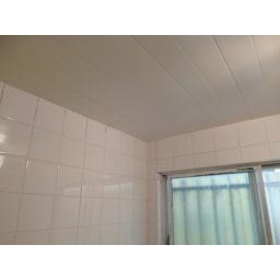 お風呂掃除専用クリーナー アミロン カビクリーン タイルの目地にも黒カビが生えやすい浴室の壁や天井にも効果的です。