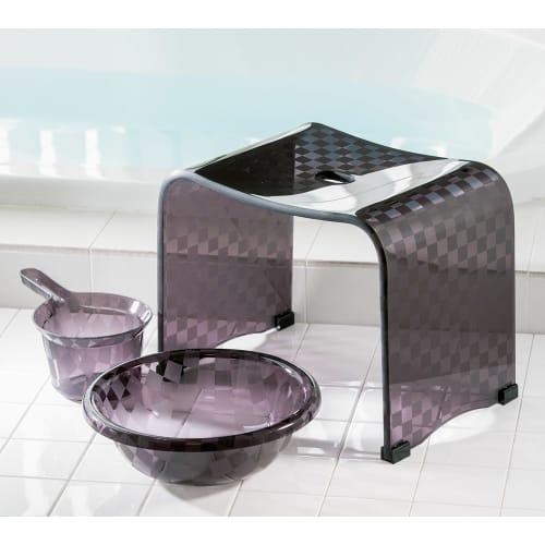 アクリル製 湯手桶 画像
