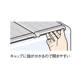 銀イオン配合 軽量・抗菌折りたたみ式風呂フタ サイズオーダー 奥行80cm(シルバー色)