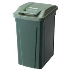 ハンドル付きダストボックス 同色2個組 ※写真は45Lタイプです。 (ア)グリーン