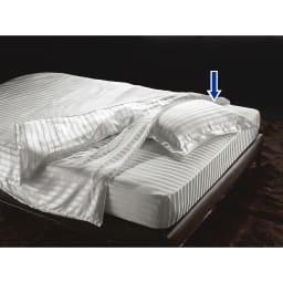 オールシルクシリーズ サテン織りピローケース お得な2枚組です。