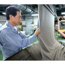 【三井毛織】エジプト超長綿やわらか綿毛布 敷き毛布 起毛師と呼ばれる熟練の職人がひとつずつ丁寧に仕立て上げています。