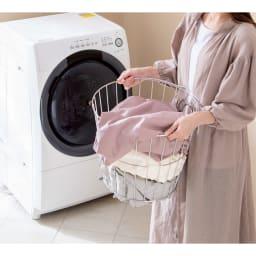 乾燥機OK!倍速速乾リコットンシーツ&カバーシリーズ 敷布団カバー (写真は掛け布団カバーシングルロング)タンブラー乾燥機も使用OK!