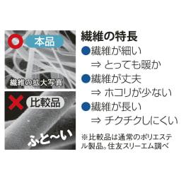 3M TM シンサレート TM 高機能中わた素材布団シリーズ ケット シンサレートの特長のまとめ