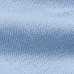 両サイドファスナーが便利!やわらか二重ガーゼカバー 掛け布団カバー 無地タイプ [生地アップ] (エ)ブルー