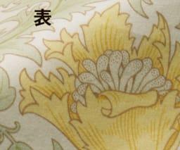 V&Aアネモネ柄 衿カバー (ア)ベージュ表