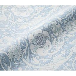 V&Aレチレード柄 衿カバー (ア) ブルー裏