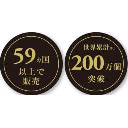 テクノジェル(R) Back & Side ピロー 枕単品 ※1 2007年3月~2020年10月までの出荷数をもとに決定しています。