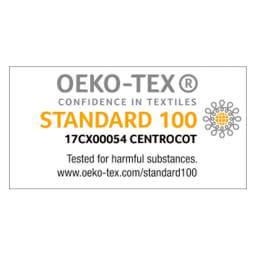 テクノジェル(R) Back & Side ピロー 枕単品 人体への安全性を示すエコテックススタンダード100を取得