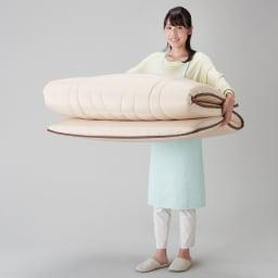 新 軽量&しっかり敷布団シリーズ お得な掛け+敷き+枕セット 軽いから上げ下ろしラクラク