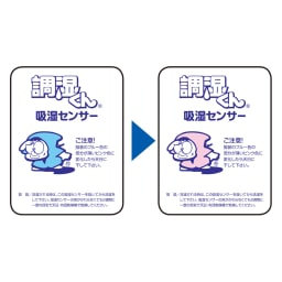【アキレス×dinos】3つ折りマットレスシリーズ 厚さ12cm 調湿タイプ [調湿タイプ] 調湿くん(R)のシリカゲルが、汗臭や加齢臭の原因物質まで吸着。ジメジメやダニだけでなく、ニオイも防げるマットレスです。 センサーが干し時をお知らせ。干すことで繰り返し使えます。 ※お洗濯の際はセンサーを外してください。