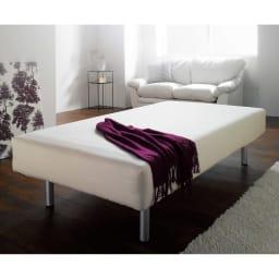 France Bed/フランスベッド 軽くて丈夫な脚付きマットレスベッド ボックスシーツを掛けてご使用ください。