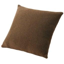 スペイン製カバー[エデン] クッションカバー(同色2枚組) 約45×45cm (ウ)ブラウン ※同色2枚組でのお届けです。