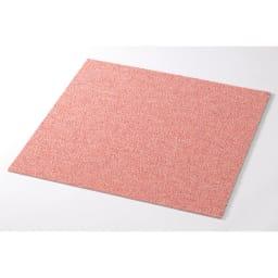 防炎・防音タイルカーペット(約50cm角) (オ)ピンク