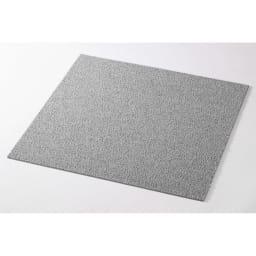 防炎・防音タイルカーペット(約50cm角) (キ)ライトグレー