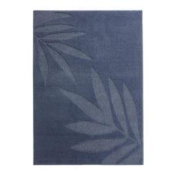 〈フェルチェ〉防ダニ 洗えるラグ(カーペット) (ア)ブルーグレー系(写真は約130×185cm)