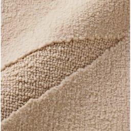 〈フェルチェ〉防ダニ 洗えるラグ(カーペット) ※ナイロン100%のやわらかな風合い。カットパイルとループパイルで柄を表現しています。