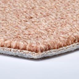 ウール100%カーペット 密度がぎっしり詰まっているので踏み心地もしっかり。