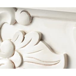 アンティーククラシックシリーズ コレクションキャビネット ロータイプ 幅50奥行35高さ96cm 古びた味わいのアンティーク仕上げ。