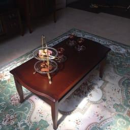 ベネチア調象がんシリーズ センターテーブル・幅95cm(引き出し無)