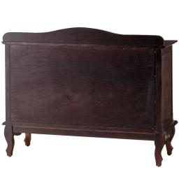 アンティーク調クラシック家具シリーズ チェスト・幅110cm 背面