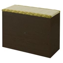 ユニット畳シリーズ ミニ 高さ45cm (ア)ダークブラウン
