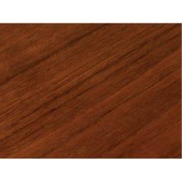 高さ自由自在 カフェスタイルダイニング 3点セット(昇降テーブル 径90ダークブラウン+ラウンジチェア×2) ダークブラウンは木目が美しく高級感のあるウォルナット天然木突板を使用しています。