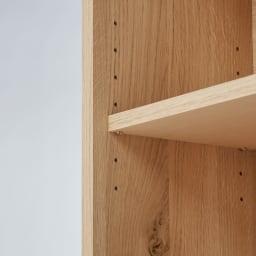 狭いカウンター天板下にもすっきり納まる収納庫シリーズ 収納庫 幅120cm(高さ70cm/高さ85cm) 棚は簡単に可動できます。