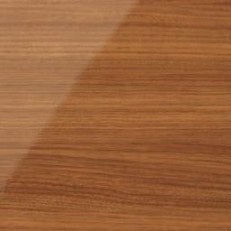スクエア光沢木目カウンター下収納  2列4マス 幅79cm奥行34cm (イ)ブラウン 華やかな色味の明るい茶色は、お部屋を明るくあたたかな空間へと演出。