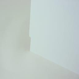 光沢仕上げダブルステンレス天板すき間収納庫 ロータイプ高さ85cm 幅30cm 幅木避けカットで壁にぴったり設置できます!!