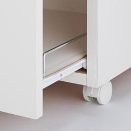 組立不要 ステンレス天板隙間収納 スライドタイプ 幅35cm・奥行55cm