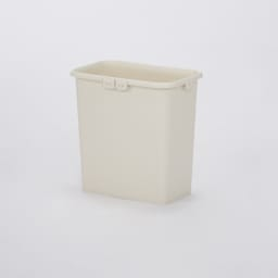 分別できるペール付きすき間ダスト収納 ロータイプ高さ85cm・4分別 幅40cm ペールは取り外して水洗いできます。