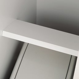 組立不要 キッチン分別タワーダストボックス 幅28.5cm スリム4分別 ゴミ箱タイプ 支え板も本体内部も化粧仕上げ。