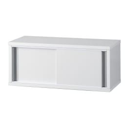 《幅60cm》光沢仕上げ 水ハネ対応引き戸カウンター上収納庫(幅60cm・標準タイプ) 商品イメージ