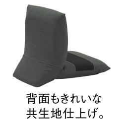 テレワークにおすすめ日本製ZAGUN(ザグーン)フロアチェアスラント (イ)ブラック