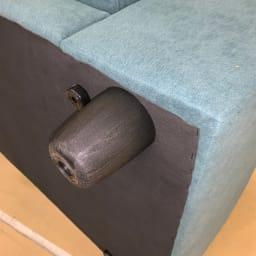 住宅事情を考えた奥行きが狭いソファ 3P 幅196cm