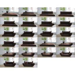 国産・高機能!洗えるカバーリング 低反発マルチリクライニングハイバックソファ 【ポイント】肘部、背部は13段階リクライニング機能。マルチな動きで快適空間を演出。 ※写真はスタンダードタイプです。