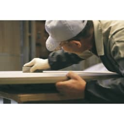 タモ天然木アルミラインシリーズ プリンターワゴン 熟練の職人たちが真心をこめて作り上げた本物の素晴らしさを伝える自信作です。