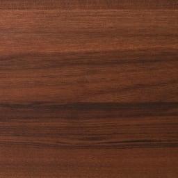 奥行44cm 生活感を隠すリビング壁面収納シリーズ 収納庫 ミラー扉タイプ 幅40cm (ウ)ダークブラウン(横木目調)