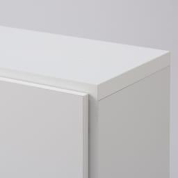 組立不要1cmピッチ頑丈棚板本棚 扉タイプ