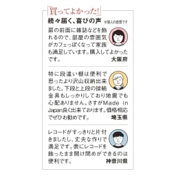 奥行39cm マガジン&レコードキャビネット ベース 扉タイプ2段3列[高さ85・幅113cm]