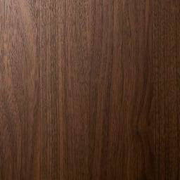 システム壁面ワードローブ ハンガー&引き出し・幅80cm (ウ)ブラウン