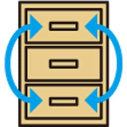 奥行30cm薄型ツヤツヤチェスト 幅50cm・5段 引き出し入替OK(小引き出しを除く)。