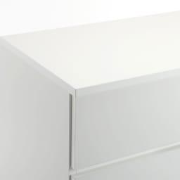 ぴったりサイズが見つかるフルスライドレールチェスト 3段 高さ69.5cm・幅60cm (イ)ホワイト