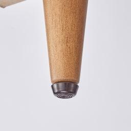 ヴィンテージ調シューズボックス 幅120cm 高さ101cm ガタつきを調節できるアジャスター付き。(イ)ブラウン