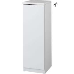 前面ミラー&板戸シューズボックス 段違いミドルタイプ・幅30.5 高さ93cm 約7足収納可能。