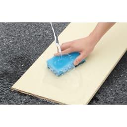 並べても使える 突っ張り式ユニットシューズボックス 天井高さ264~274cm用・幅45cm[紳士靴対応] 可動棚板は取り外して水洗いのできるプラスチック製。清潔に保てます。